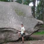 Красноярские столбы: начальный камень